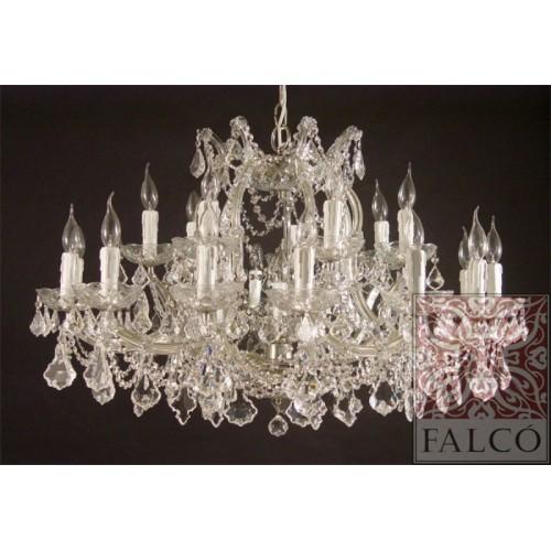 Lamparas estilo maria teresa con cristal for Lamparas estilo contemporaneo